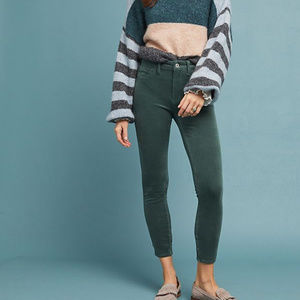 Anthropologie Pilcro Corduroy High-Rise Jeans